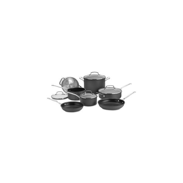 11 Pc. Set Non-Stick Hard Anodized 11 Piece Set Non-Stick Hard Anodized