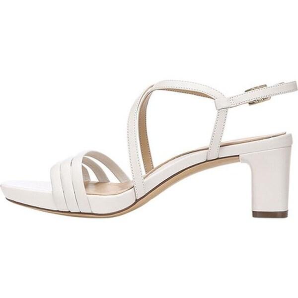 Iris Strappy Sandal Alabaster Leather