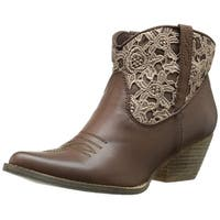 Very Volatile Womens LibbyLou Closed Toe Ankle Fashion Boots