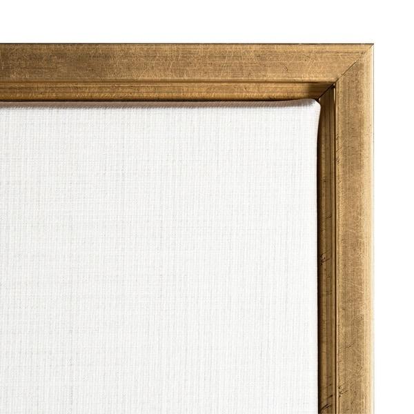 Tender Sprout Ii Eucalyptus By Eva Watts Framed Canvas Art Overstock 32926262