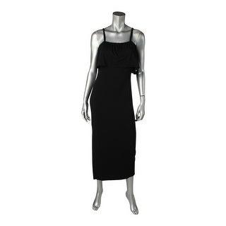 Rachel Pally Womens Maxi Dress Popover Cold Shoulder - m