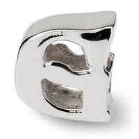 Sterling Silver Reflections Letter G Bead (4mm Diameter Hole)