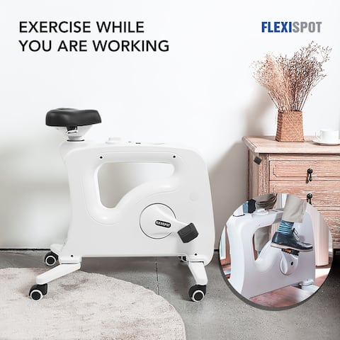 Flexispot Under Desk Bike Chair Adjustable Standing Desk Mate for Work From Home DBU9