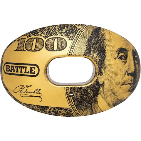 Battle Sports Science Benjamin Oxygen Lip Protector Mouthguard - Gold - One Size