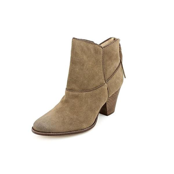 Ella Moss Violet Western Boots - Smoke
