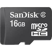 SanDisk SDSDQM016GB35M microSDHC 16GB 3  Inch x 5  Inch Blister Pkg