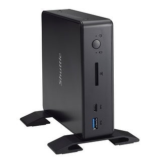 Shuttle Xpc Nano Nc02u7 Intel Skylake-U I5-6200U Mini Barebone Pc, Support 4K Hd Video, Dual-Channel Ddr3l Max 32Gb