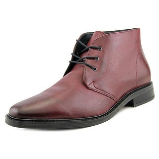 Alfani Lombard Round Toe Leather Chukka Boot