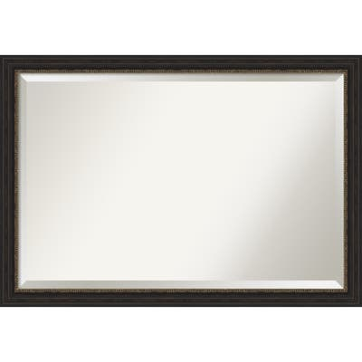Accent Bronze Narrow Bathroom Vanity Wall Mirror