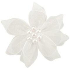 White Sheer - Ribbon Violets 2/Pkg