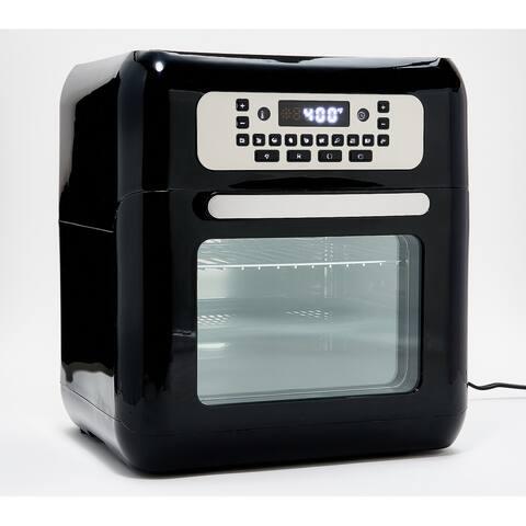 Cook's Essentials 10-qt Air Fryer Oven w/ Presets & Accessories