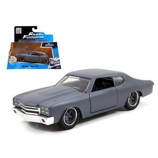 Dom\'s Chevrolet Chevelle SS Primer Grey Fast & Furious Movie 1/32 Diecast Model Car by Jada