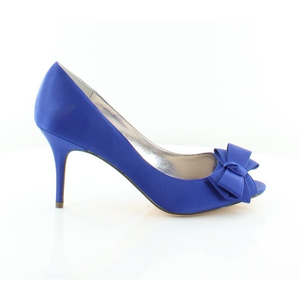 Nina Florice Women's Heels Electric Blue