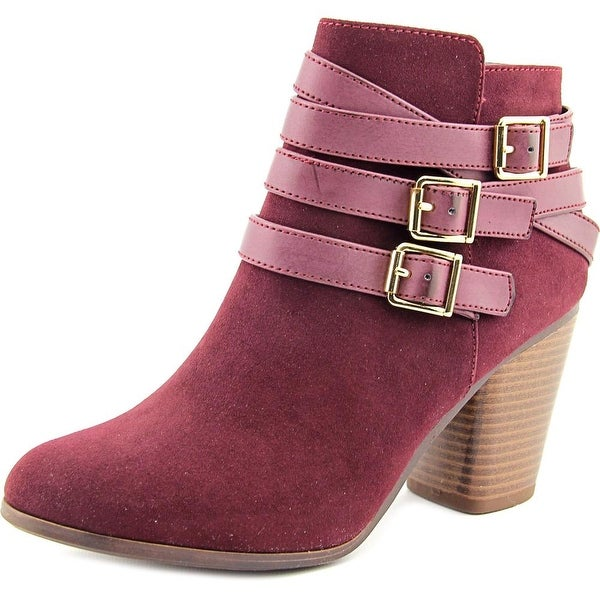 Material Girl Minah Women Wine Boots