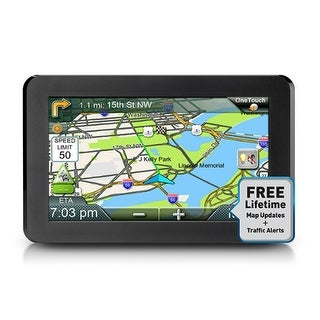 Magellan RoadMate 9616T-LM 7-inch Automotive GPS w/ Lifetime Map Updates & Driver Alerts