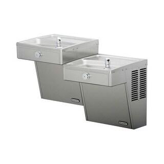 Elkay VRCTL8SC 7.8 GPH ADA Wall Mount Bi-Level Vandal Resistant Cooler
