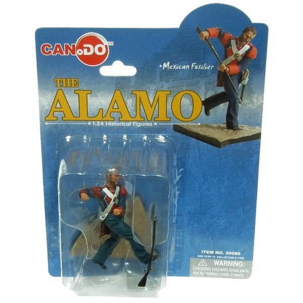 1:24 Scale Historical Figures The Alamo Figure D Mexican Fusilier - multi
