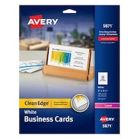 Avery Two Side Printable Premium Business Cards 2 X 3 1