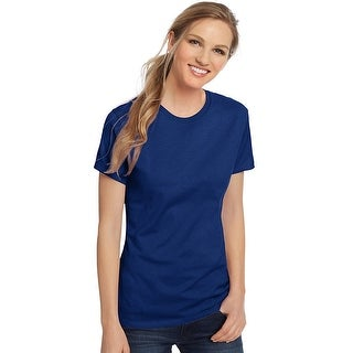 Hanes Women's Nano-T® T-shirt - Color - Deep Royal - Size - 3XL