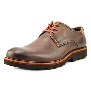 Pikolinos Glasgow Men  Round Toe Leather Brown Chukka Boot