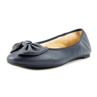 Circus by Sam Edelman Ciera Women  Round Toe Leather Blue Flats