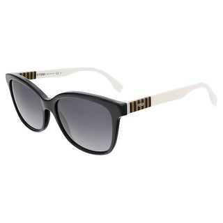 Fendi FF0054S 07TX Black/Penquin White Butterfly sunglasses