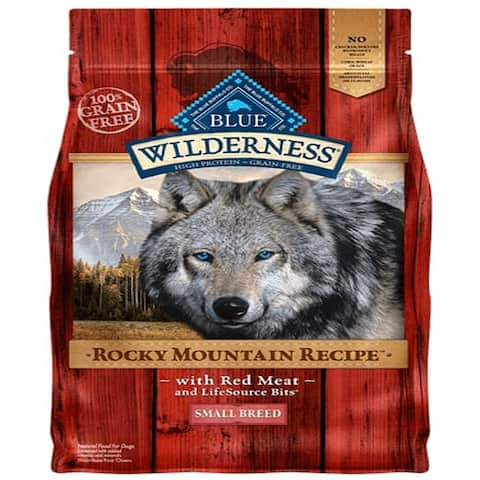 Blue Dog Wilderness Rocky Mountain Red Small all Breed 10 Lbs. - 10 lbs