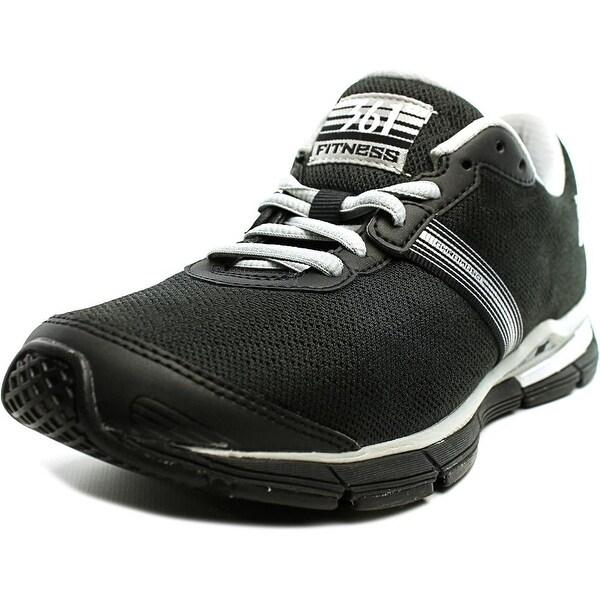 361 Chromoso Women Black/Silver Running Shoes