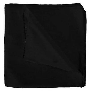 Solid 100% Cotton Unisex Bandana - 12 Pack - 22 in