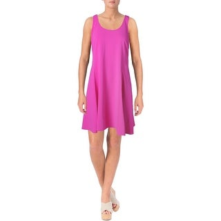 Lauren Ralph Lauren Womens Petites Casual Dress Matte Jersey Sleeveless (3 options available)