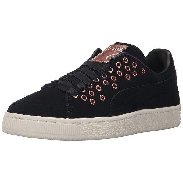 8dcd54a47f7b Shop PUMA Womens Puma Low Top Lace Up Fashion Sneakers - On Sale ...