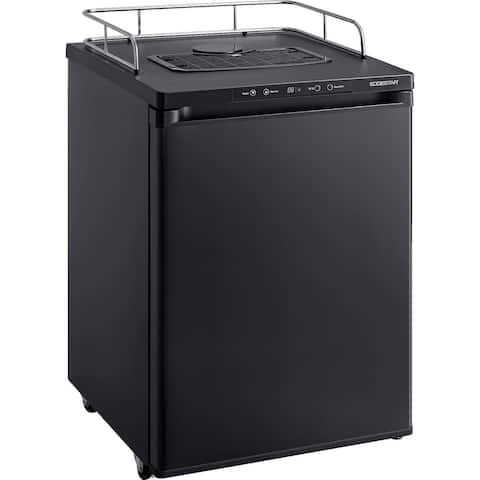 """EdgeStar BR3002 24"""" Wide Kegerator Conversion Refrigerator for Full Size Kegs with Deep Chill Mode"""