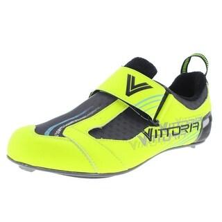 Vittoria Mens THL Evo Mesh Inset Colorblock Cycling Shoes - 38.5