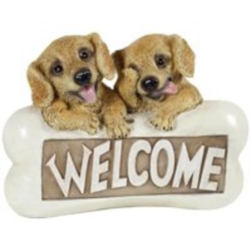 Boston Harbor PTA042B-R1A-AA-1 Solar Light Welcome Dog