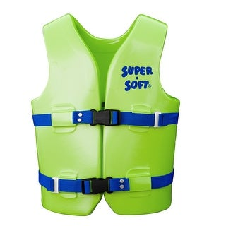 TRC Recreation Super-Soft USCG Child Vest M-Kool Lime Green 1021539