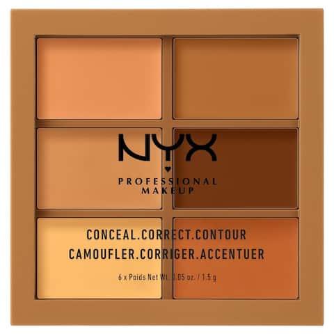 Nyx Conceal Correct Contour Palette, 62 G - N/A