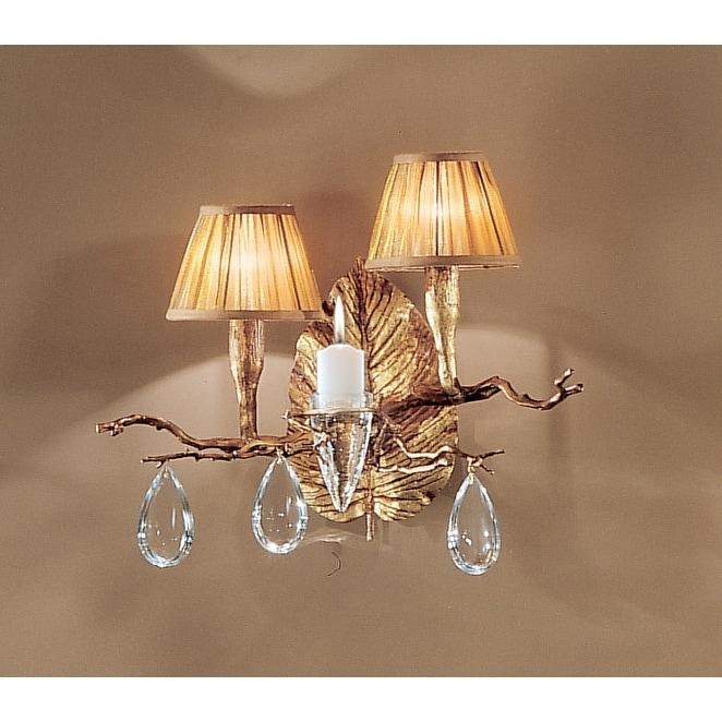 Classic Lighting 10022 14 Crystal Wallchiere From The Morning Dew Overstock 14533692