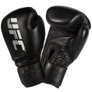UFC Professional Hook and Loop Sparring Boxing Gloves - bag mma heavy training (2 options available)