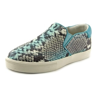 Ash Impuls Round Toe Leather Sneakers