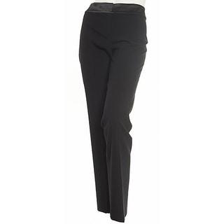 Nine West NEW Solid Black Women's Size 10 Stretch Trouser Dress Pants