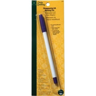 Purple - Dritz Quilting Disappearing Ink Marking Pen