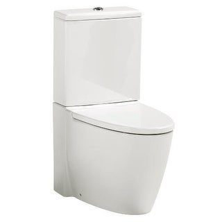 "Mirabelle MIRWH200 Winter Haven 1.28 GPF Toilet Tank Only with 12"" Rough In - Le - White"
