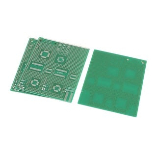 3 Pcs Single Sided Multi-package Patch PCB Print Circuit Board 9 x 11CM Green