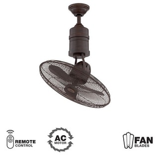 """Craftmade Bellows III 21"""" 3 Blade Indoor Ceiling Fan - Blades, Remote Included"""