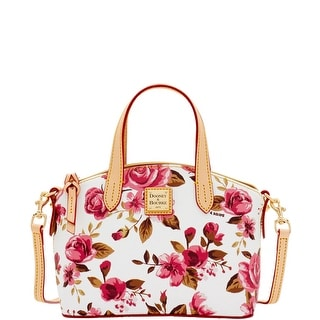 Dooney & Bourke Cabbage Rose Ruby (Introduced by Dooney & Bourke at $158 in Nov 2016) - White