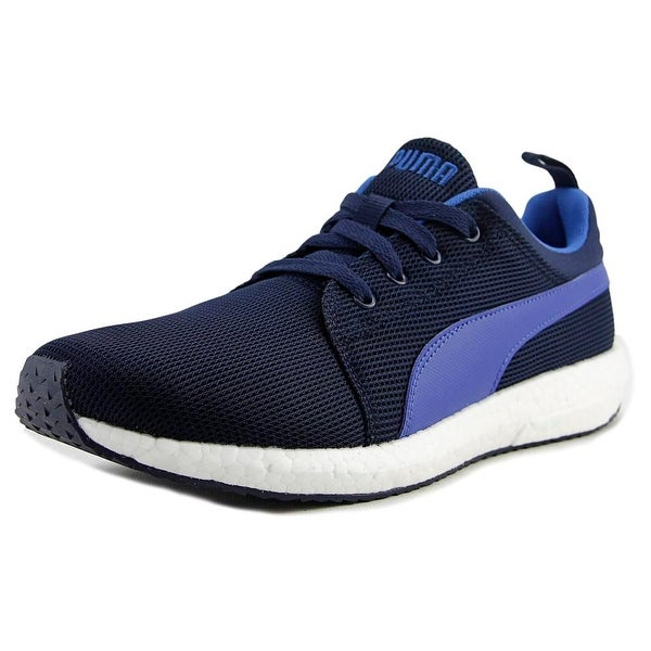 Puma NRGY Runner Men Round Toe Synthetic Blue Sneakers