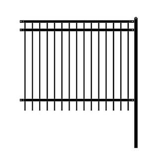 Link to ALEKO Nice Style Self Unassembled Garden Yard Steel Fence 6'x4' Black Similar Items in Yard Care