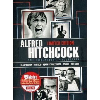 Alfred Hitchcock: Essentials Collection [DVD]