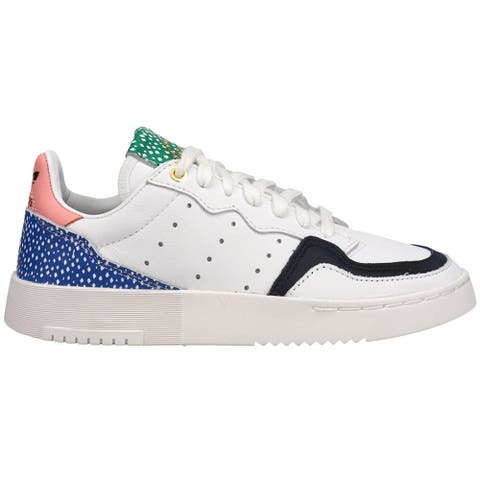 adidas Supercourt Lace Up Womens Sneakers Shoes Casual - White