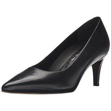 Walking Cradles Women's Sophia Dress Pump, Black, 8 W US